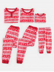 Full Print Matching Family Christmas Pajamas -