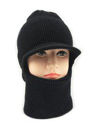 Winter Solid Color Knitted Ski Cap -