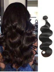 Indian Virgin Real Human Hair Body Wave Hair Weave -