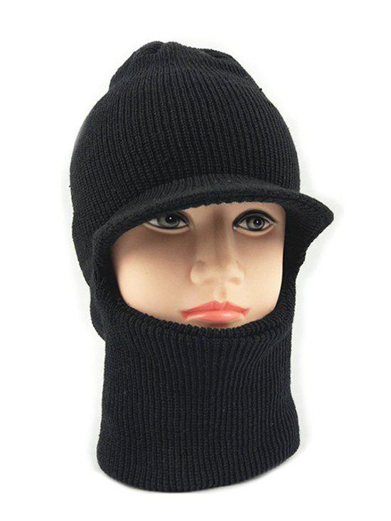 Discount Winter Solid Color Knitted Ski Cap