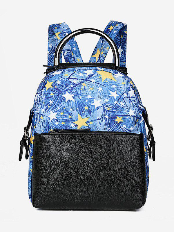 Shops Statement Floral and Star Pattern Backpack