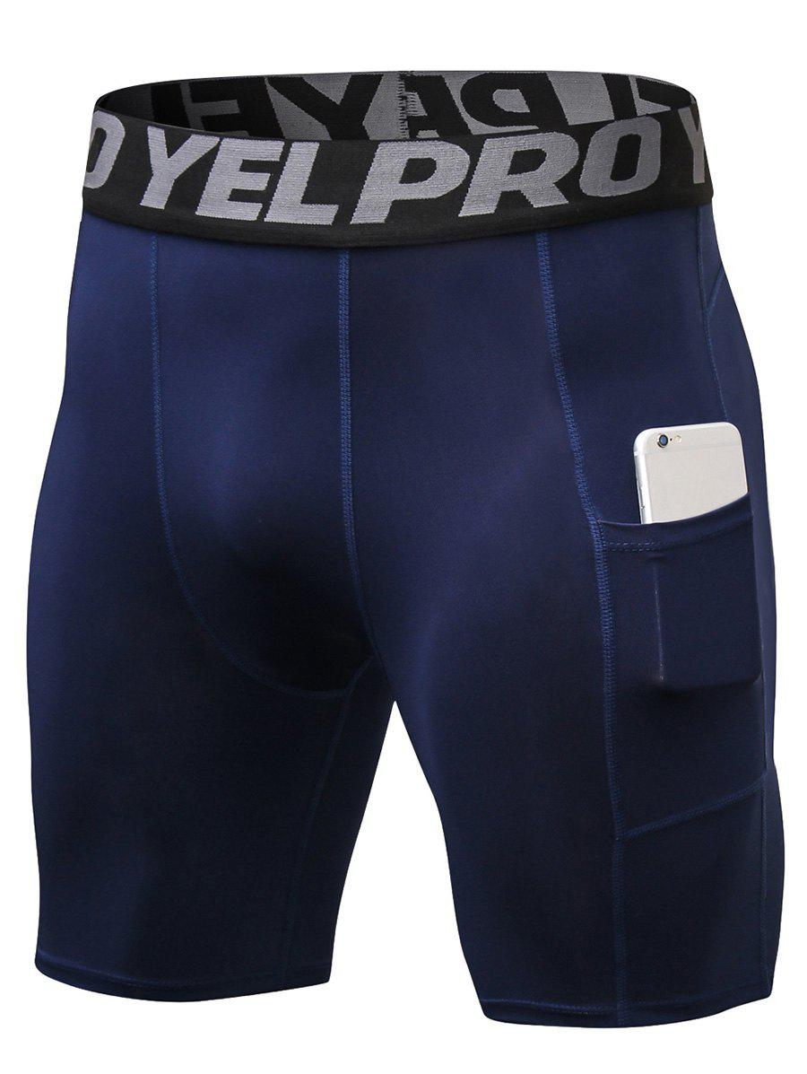 Best Quick Dry Stretch Tight Shorts with Pocket