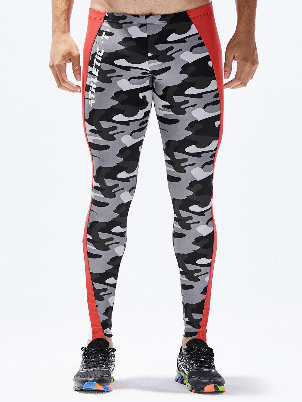Affordable Camouflage Pattern Tight-fitting Sport Pants