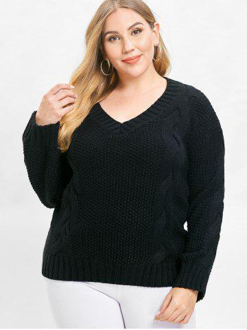 Plus Size Chunky Sweater Free Shipping Discount And Cheap Sale