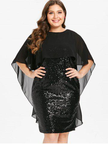 Plus Size Mother of The Sequin Bodycon Bride Dress