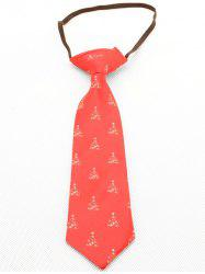 Christmas Tree Pattern Kids Tie -