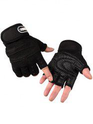 Non-Slip Fingerless Sport Gloves -