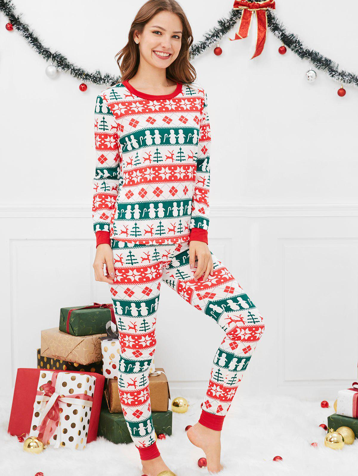 Christmas Geometric Pattern Family Pajama Sets - Dad M e35b76898