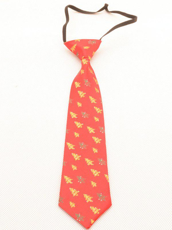 Affordable Christmas Tree Kids Novelty Necktie