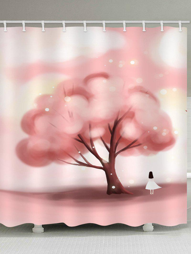 Best Cute Tree Waterproof Shower Curtain