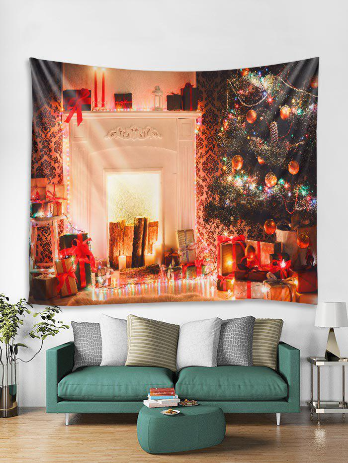 Outfit 3D Christmas Tree Candle Gift Tapestry Art Decoration