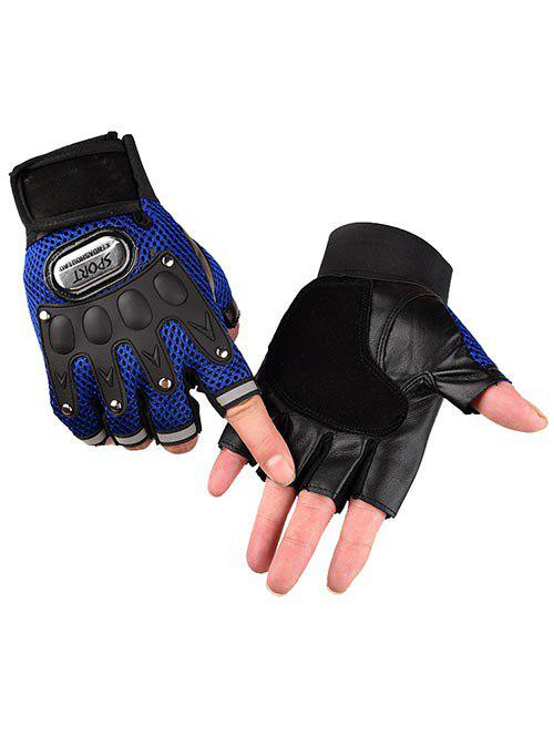 Trendy Outdoor Fingerless Hiking Cycling Sport Gloves