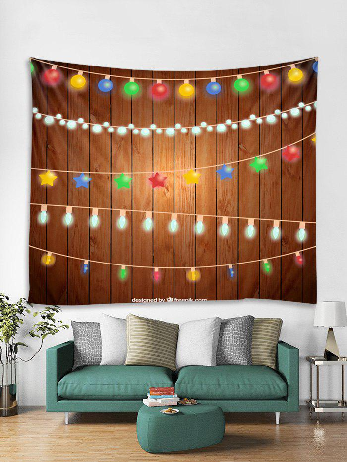 Outfit Christmas String Lights Print Tapestry Wall Hanging Decoration