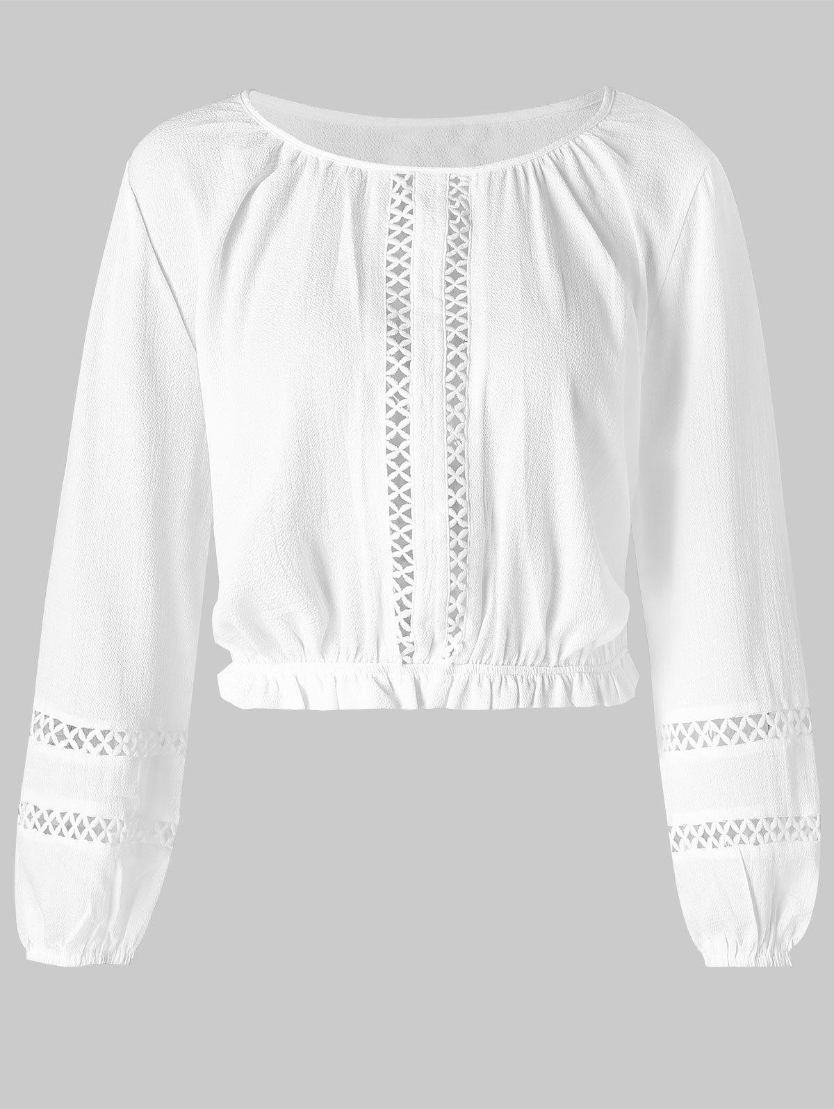 Chic Hollow Out Cropped T Shirt