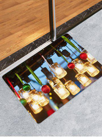 Christmas | Floor | Light | Print | Ball | Mat | 3D