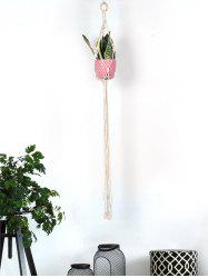 Pot Holder Tasseled Macrame Plant Hanger -