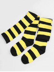 Winter Striped Pattern High Knee Socks -