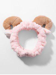 Sheep Horns Design Fluffy Make Up Hair Band -