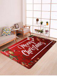 Merry Christmas Gift Printed Floor Mat -