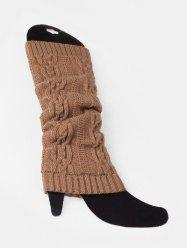Winter Solid Color Knitting Leg Warmers -