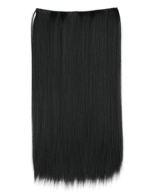 Fancy Heat Resistant Synthetic Straight Hair Weave