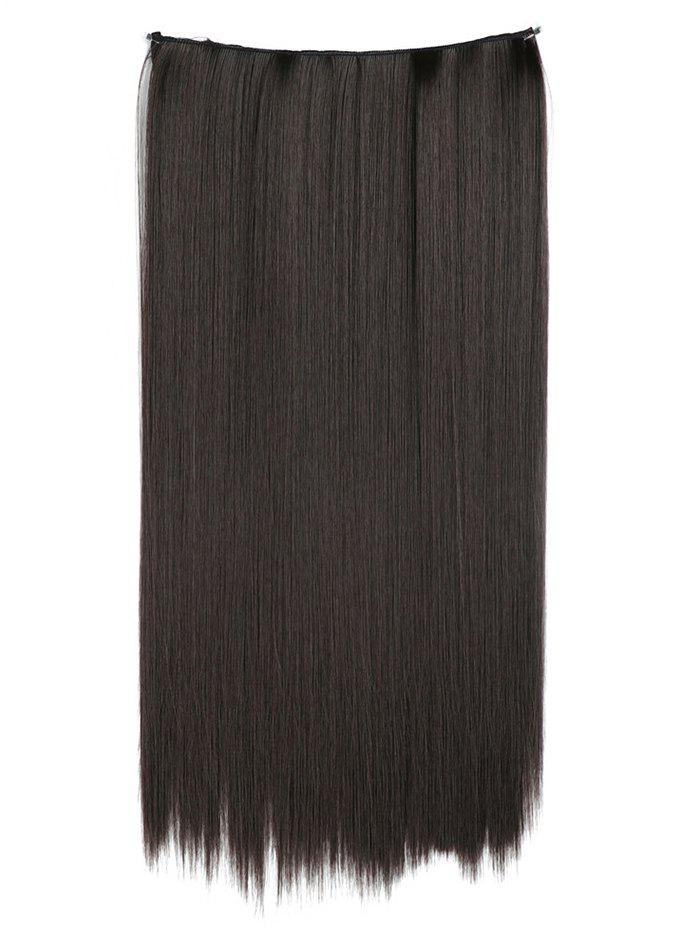 Hot Heat Resistant Synthetic Straight Hair Weave