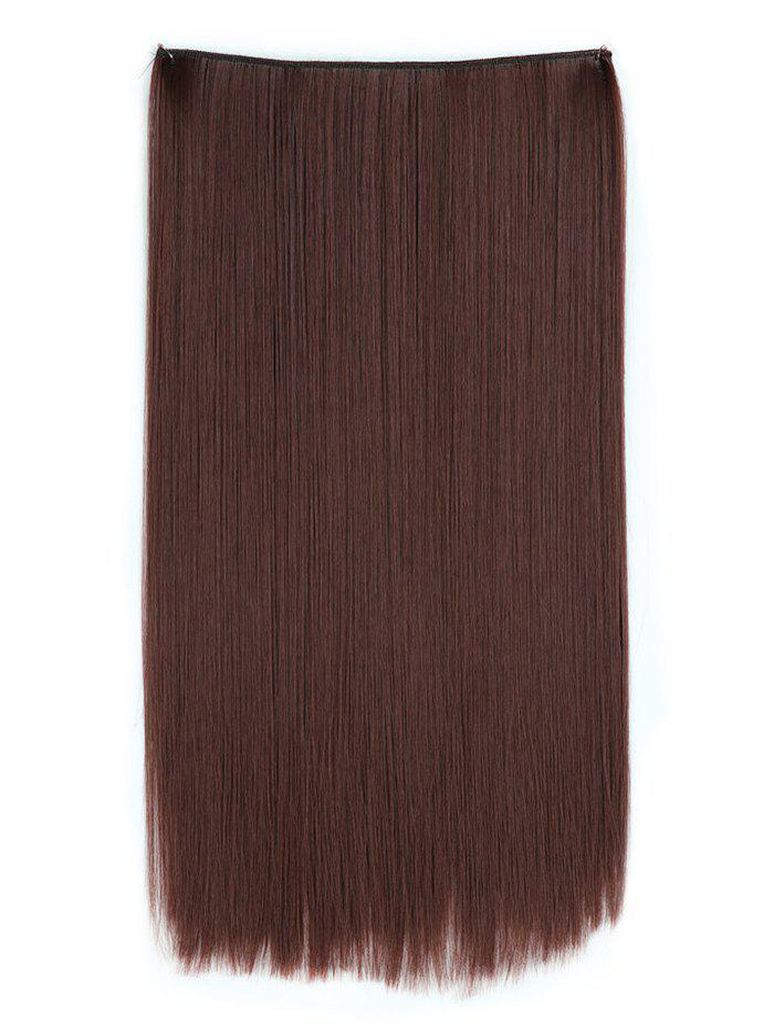 Affordable Heat Resistant Synthetic Straight Hair Weave