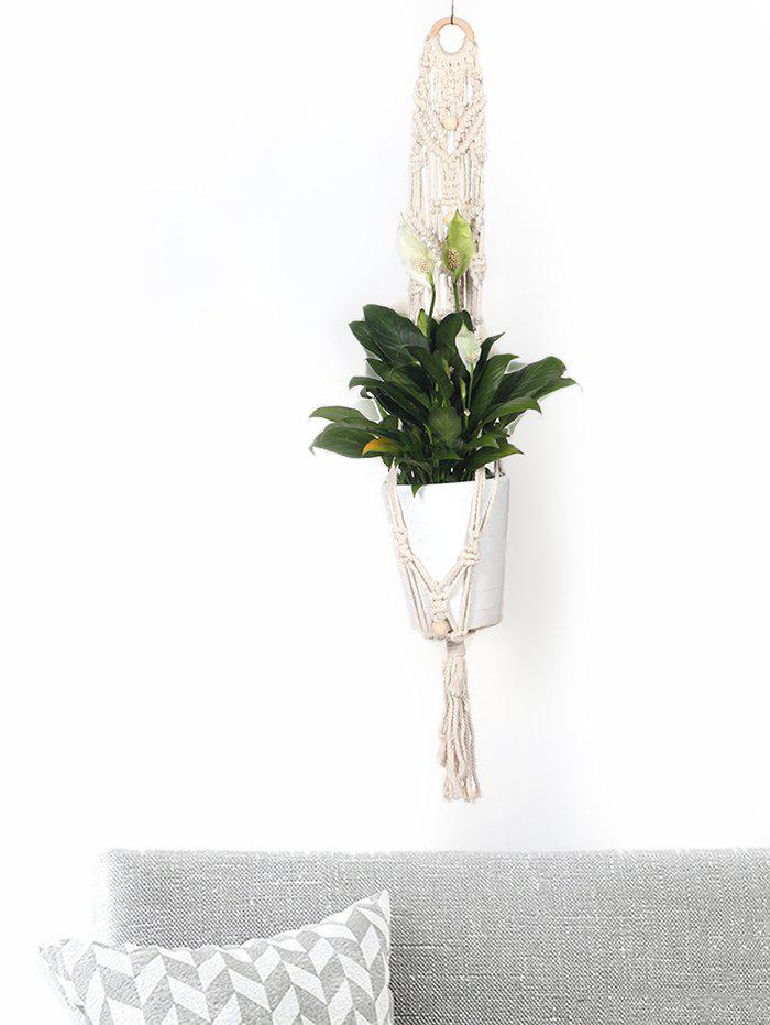 Fashion Braided Macrame Plant Hanger for Pot Holder