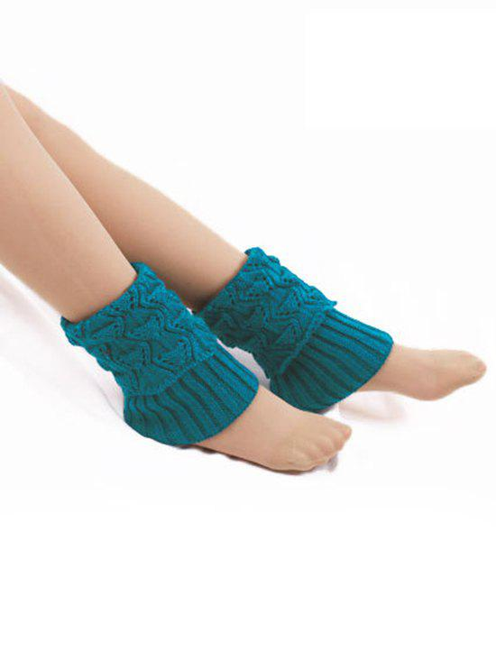 Shops Stylish Fish Pattern Flanging Leg Warmers