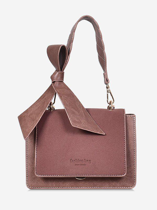 Fashion Bowkont Letter Design Crossbody Bag