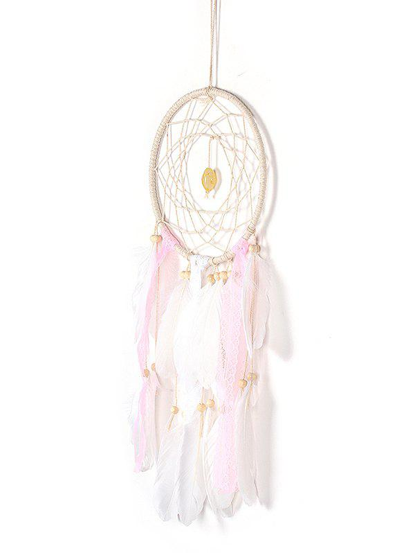 Discount Feathers Lace Handmade Dream Catcher