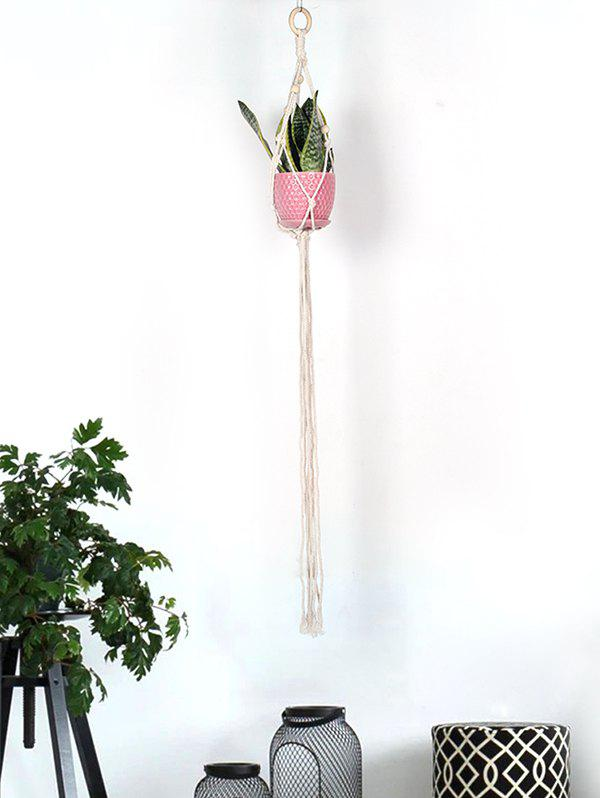 Chic Pot Holder Tasseled Macrame Plant Hanger