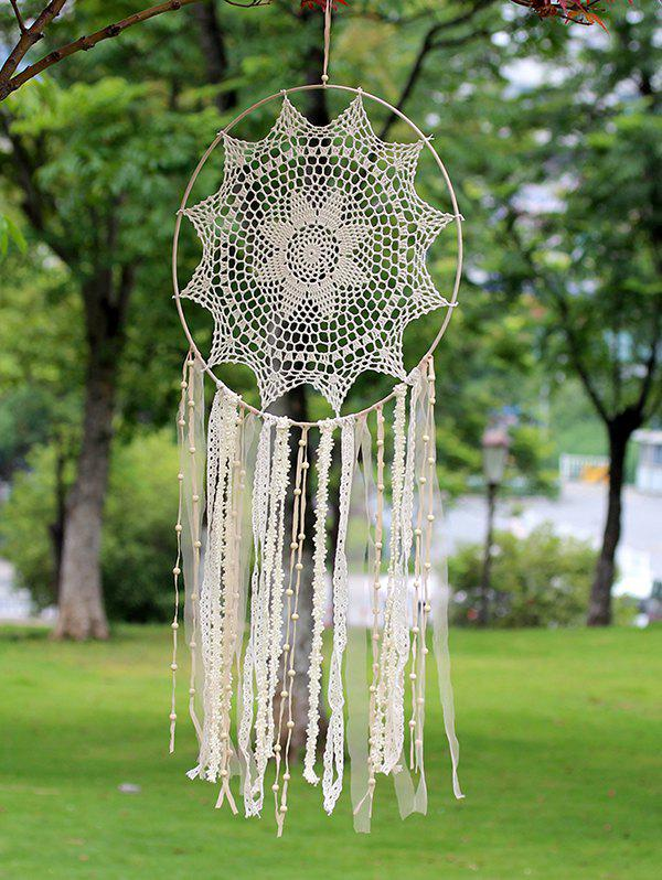 Chic Lace Handmade Dream Catcher Wall Hanging