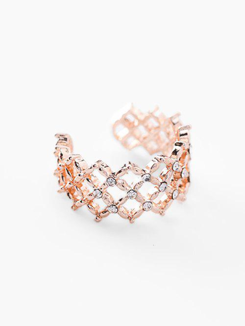 Affordable Geometric Hollow Out Design Ring