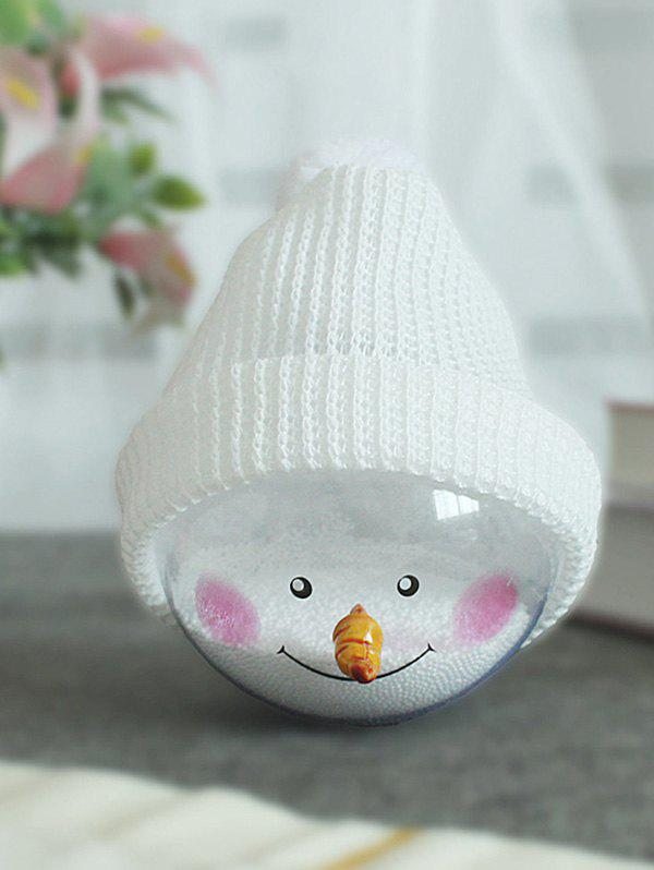 Cheap Christmas Tree Decoration Hatted Snowman Ball