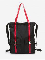 Large Capacity String Design School Backpack -