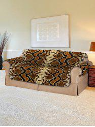 Snakeskin Pattern Couch Cover -