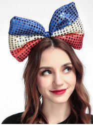 Sequins Big Bow Shape Hair Band -