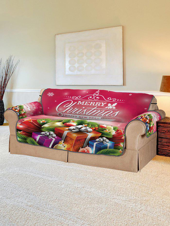 Affordable Christmas Gifts Balls Pattern Couch Cover