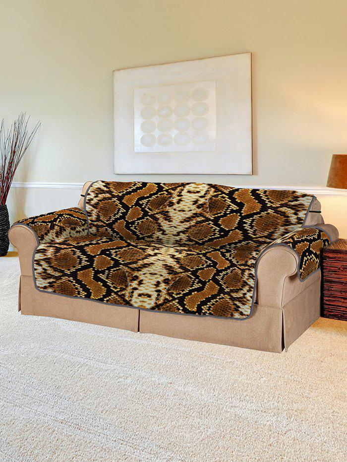 Chic Snakeskin Pattern Couch Cover