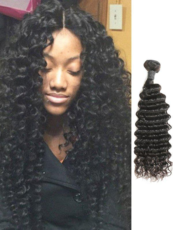 Fancy 1Pc Deep Wave Malaysian Real Natural Hair Weave