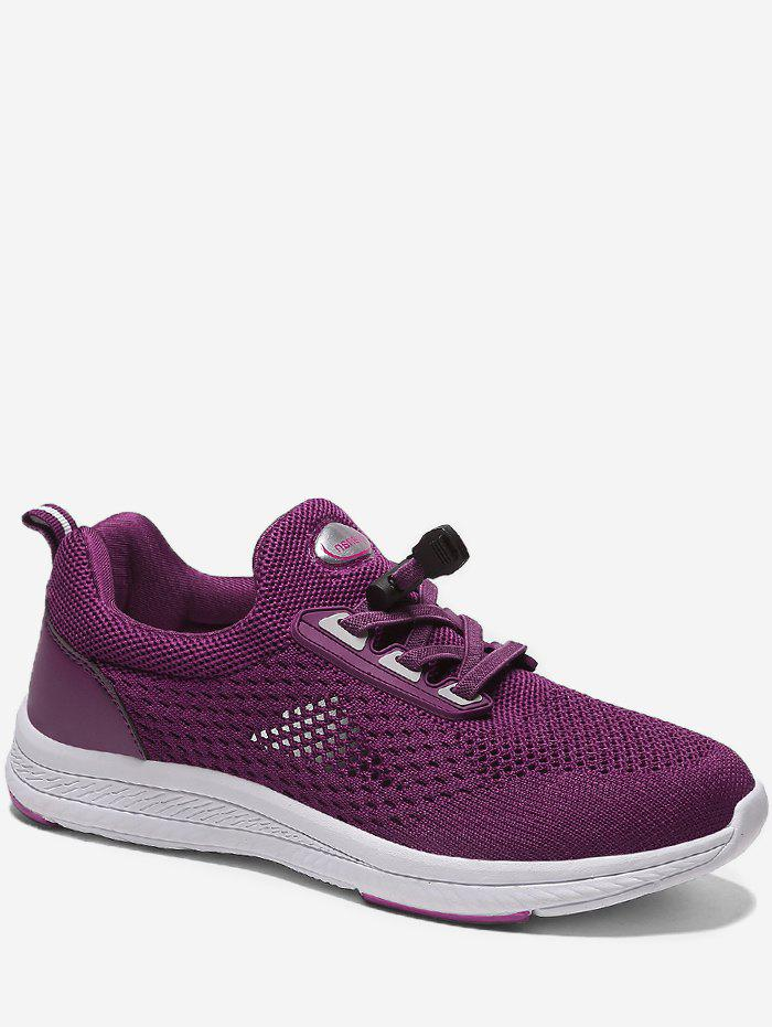 Chic Drawstring Lace Breathable Running Sneakers