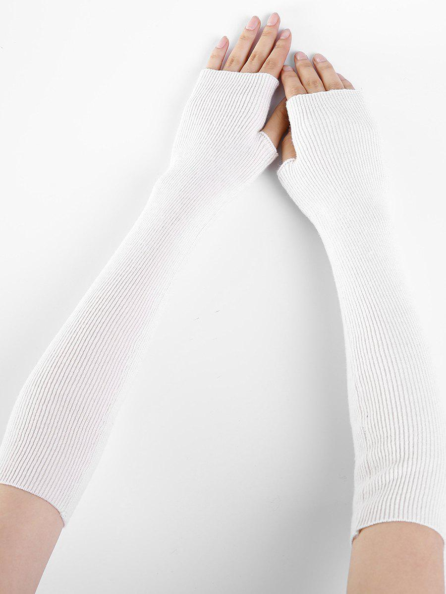 Best Winter Solid Color Fingerless Arm Warmers