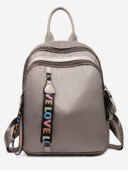 Statement Love Letter Pattern Backpack -
