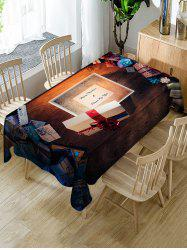 Christmas Gifts and Letters Print Table Cloth -