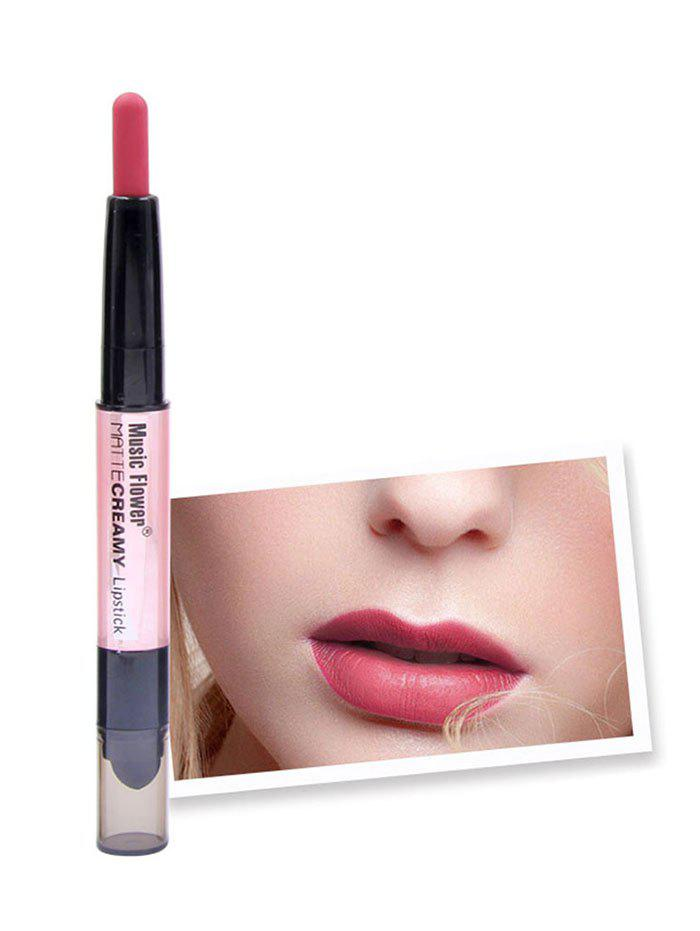 Latest Cosmetic Long Wear Double Ended Silky Lipstick