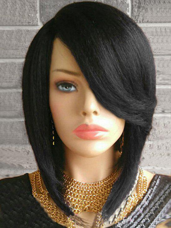 Shops Short Flip Side Parting Straight Bob Synthetic Wig