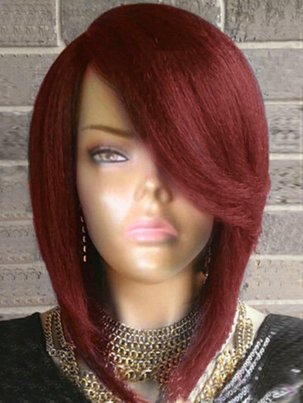 Buy Short Flip Side Parting Straight Bob Synthetic Wig