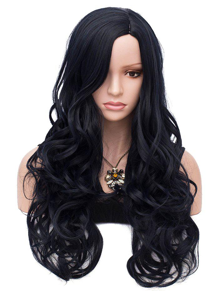 Outfit Long Synthetic Side Parting Wavy Synthetic Wig