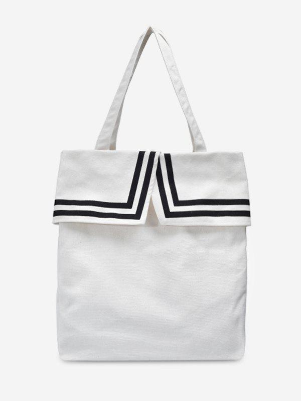 Outfit Preppy Style Canvas Tote Bag